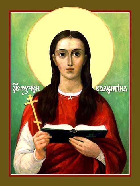 IMG ST. VALENTINA, Martyr