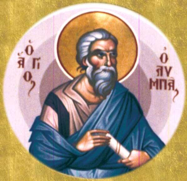 ST. OLYMPAS the Apostle