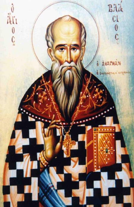 img ST. BLAISE Hieromartyr of Sklavaina, Acarnania