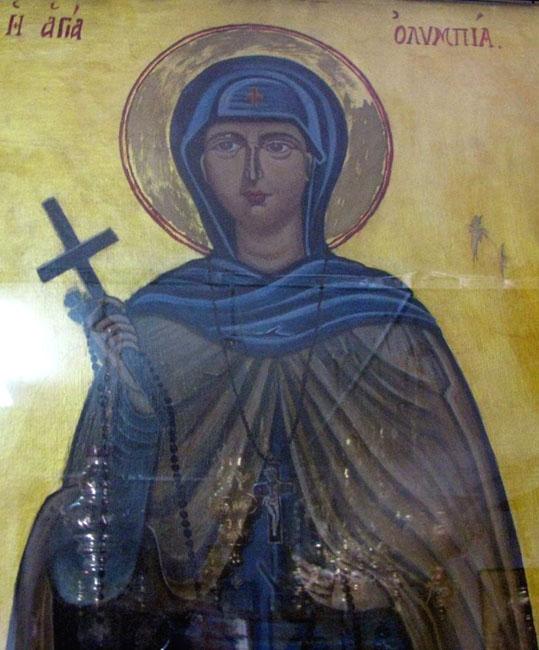 img abbess Olympia of Mytilene