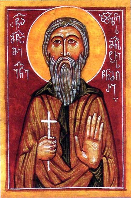 ST. JOHN, Martyr, Abbot of the Zedazeni Monastery