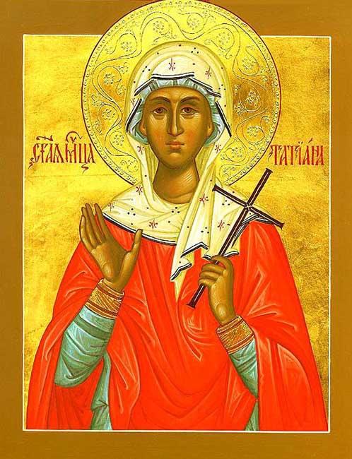 ST. TATIANA of Rome , Deaconess, Martyr