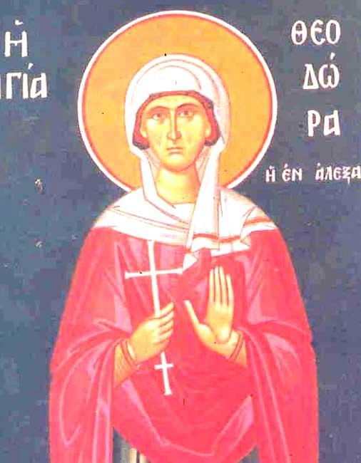 IMG ST. THEODORA of Alexandria,