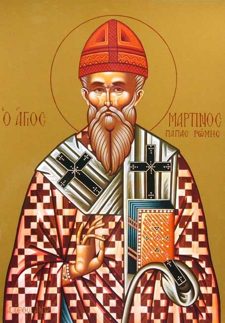 IMG ST. MARTIN I, Pope of Rome
