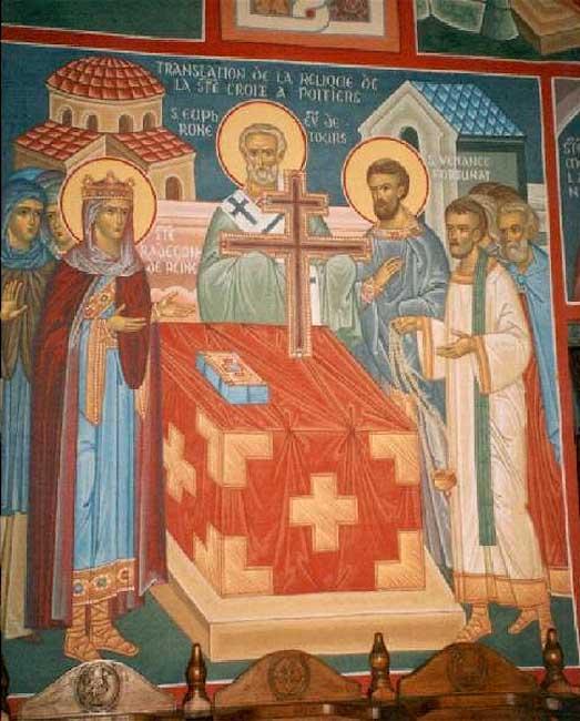 IMG ST. RADEGUND, Ascetic