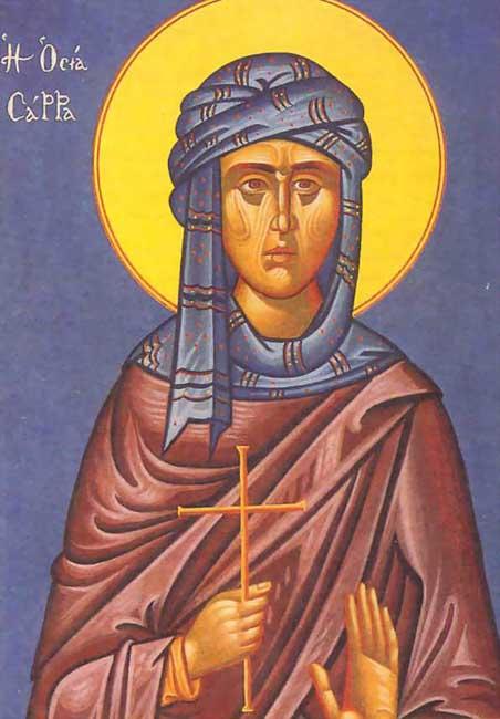 IMG ST. SARAH the Egyptian
