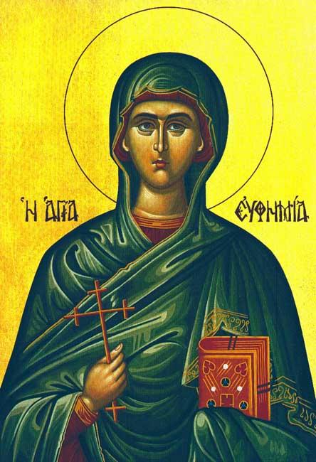 IMG ST. EUPHEMIA, Great Martyr