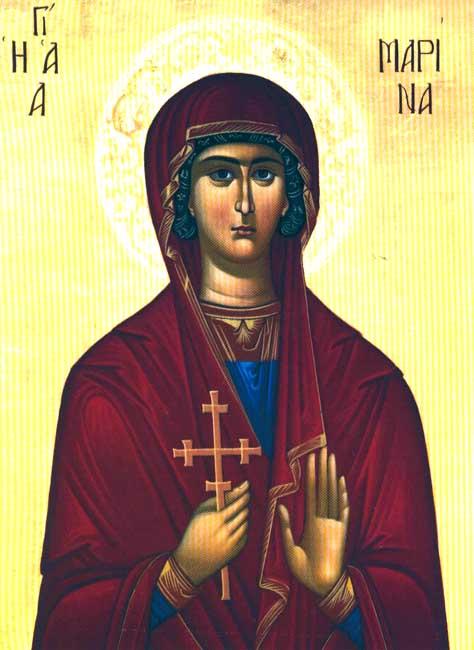 img St. Marina (Margaret), Great Martyr, of Antioch