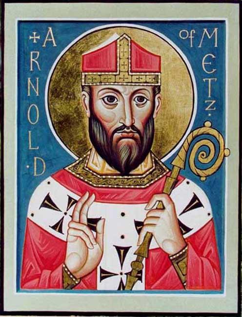 IMG ST. ARNUL, Bishop  of Metz