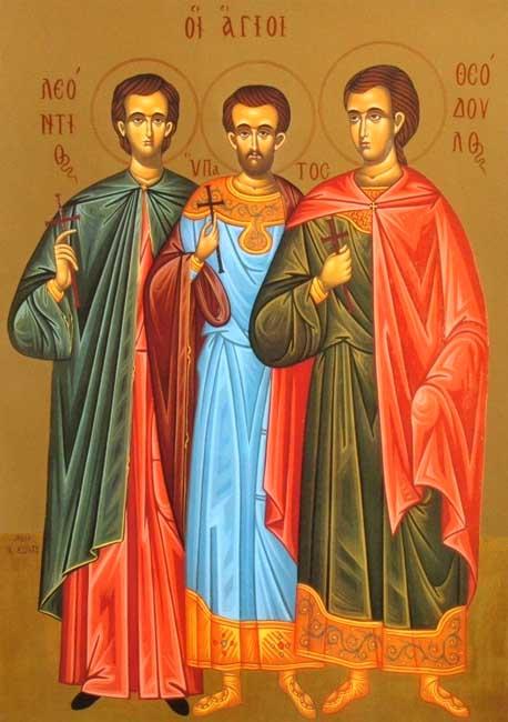 IMG ST. THEODULUS, Martyr at Tripoli in Syria