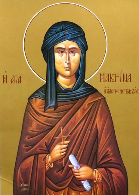 img ST. MACRINA, Ascetic, Sister of St. Basil the Grea