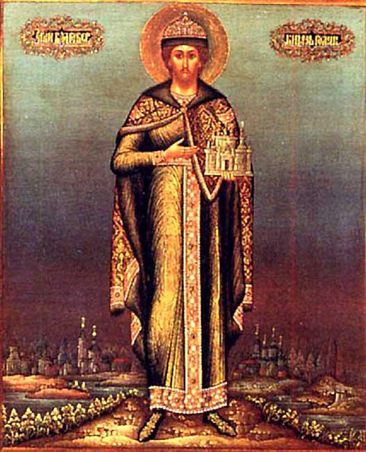 IMG ST. ROMAN of Ryazan, Right-believing Prince