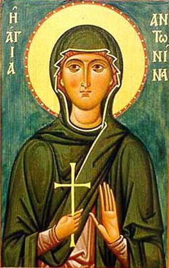 IMG ST. ANTONINA, Martyr of Nicea