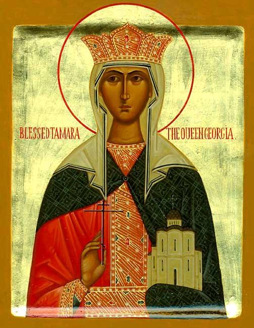 img ST. TAMARA, Queen of Georgia