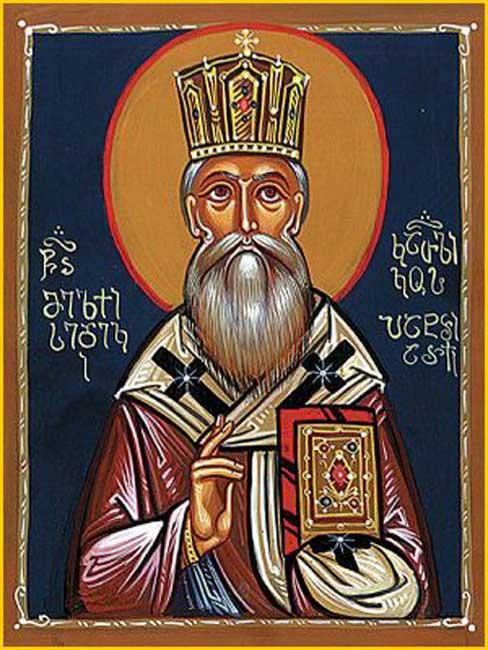 IMG ST. MELCHIZEDEK I, Patriarch of Georgia