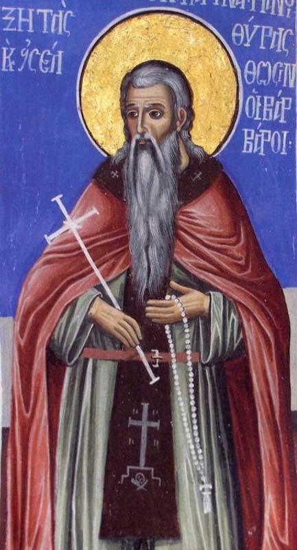 ST. GENNADIUS, Abbot of Vadopedi Monastery, Athos