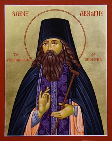 IMG ST, ABRAMIUS, Archimandrite, Wonderworker of Smolensk
