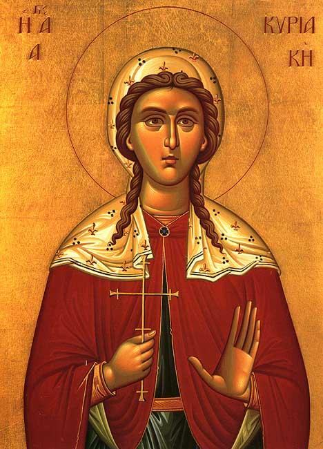 IMG ST, CYRIACA, Kyriaki, Dominica, of Rome