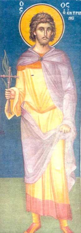 IMG ST. DEMETRIUS, New Martyr of Peloponnesos