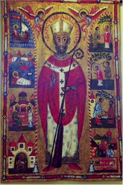 St. ADALBERT, Founder of Monastery of St Nicholas, Italy