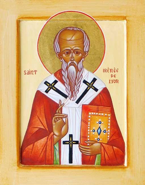 ST ST. IRINAEUS, Bishop of Lougdoun [Lyons