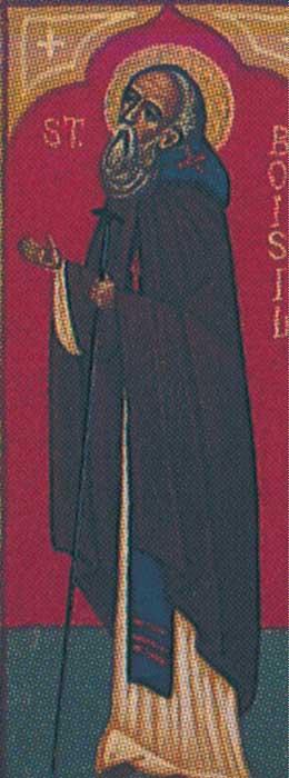 IMG ST. BOISIL (Boswel) Abbot of Melrose