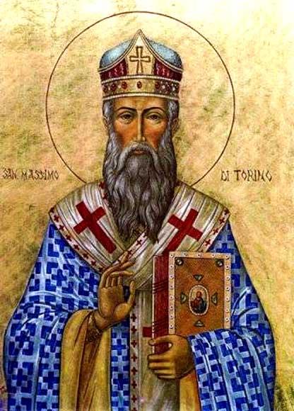 IMG ST. MAXIMUS, Bishop of Turin, Confessor