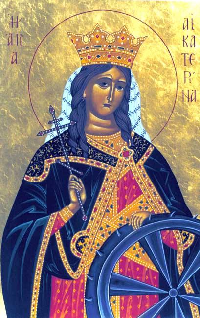 ST. CATHERINE, Ekaterina, of Alexandria
