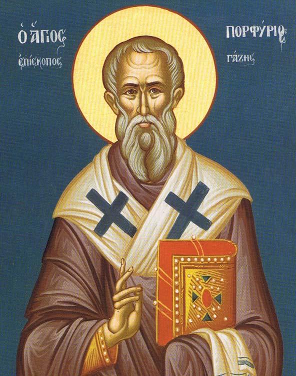 IMG ST. PORPHYRIUS, Bishop of Gaza