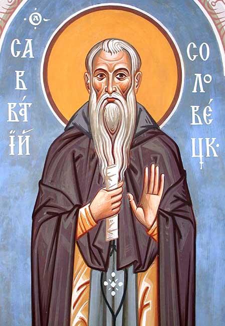 IMG ST. SABBATIUS of Solovetz, Russia