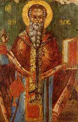 IMG ST. AUXIBIUS II, Bishop of Soli, Cyprus