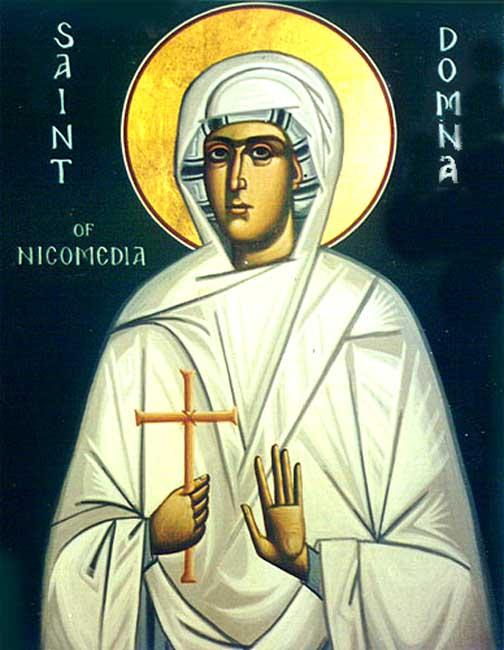 ST, DOMNA Martyr