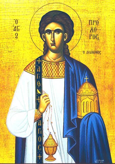 IMG ST. PROCHORUS, Apostle of the Seventy