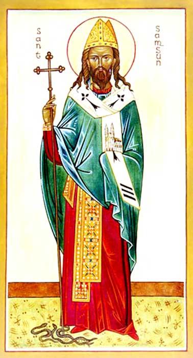 IMG ST. SAMSON, Sampson, Bishop in Cornwall