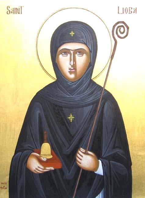 IMG ST. LIOBA of Bischoffsheim