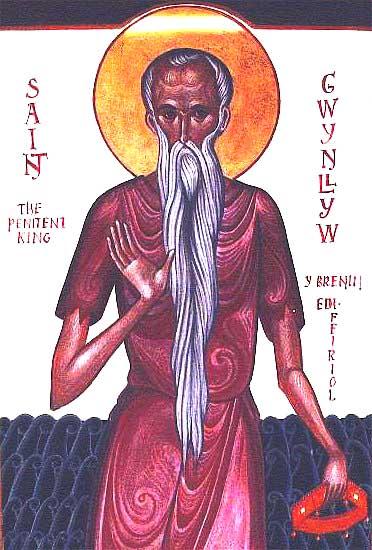 img ST. GWYNLLYW, Woollos, Husband of St Gladys