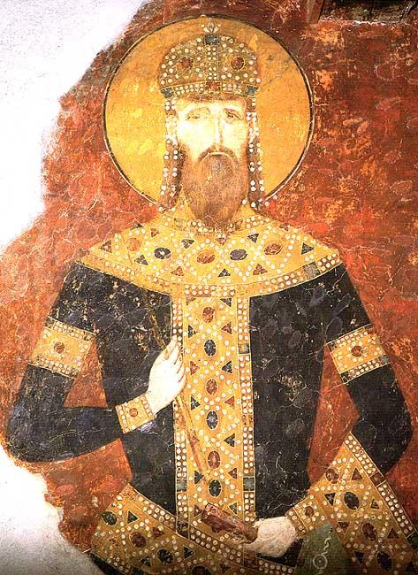 IMG ST. STEPHEN, Stefan, Miliutin of Serbia