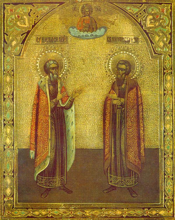 IMG ST. CONSTANTINE Vsevolodovich, Prince of Yaroslavl