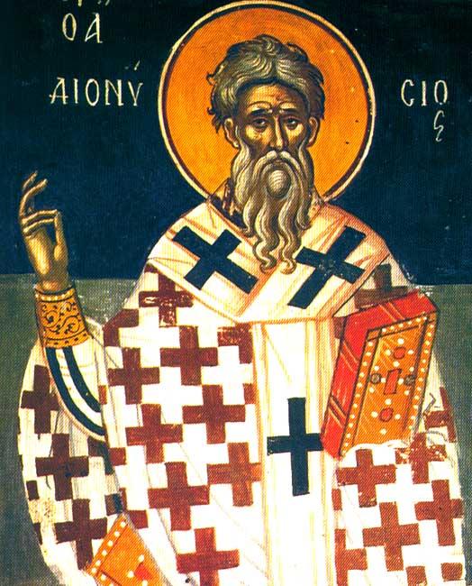 IMG ST. DIONYSIUS, Pope of Alexandria