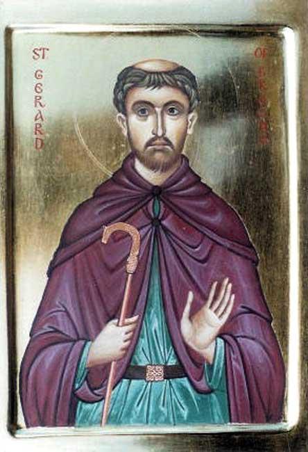 IMG ST. GERARD, Abbot of Brogne