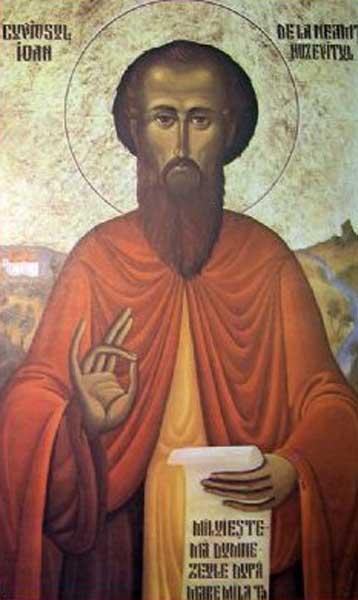IMG ST. JOHN the Chozebite, the Bishop of Caesarea