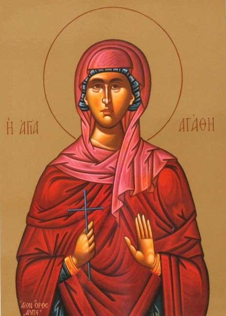 IMG ST. AGATHA of Palermo, Sicily