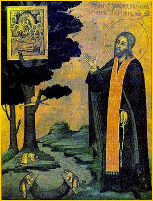 img ST. ADRIAN,  Abbot of Poshekhonye Wonderworker, Yaroslavl, Monk-martyr