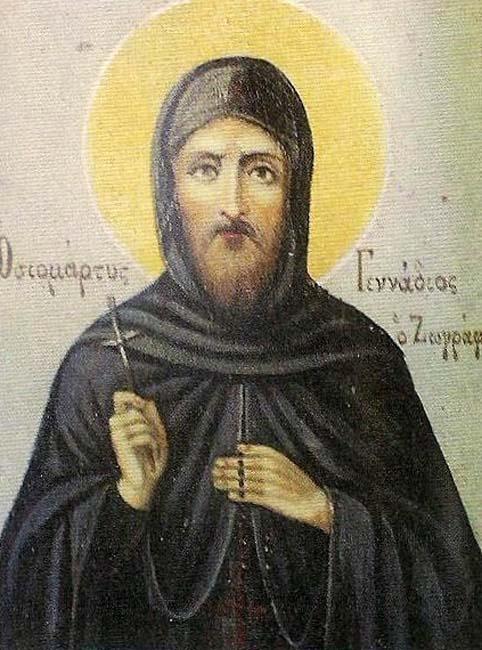 IMG ST. GENNADIUS, Monk Marty