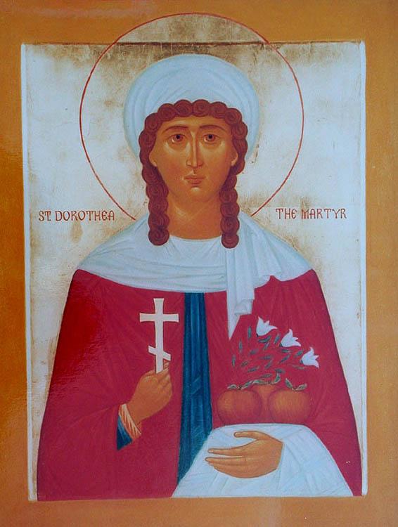 IMG ST. DOROTHEA of Caesarea in Cappadocia