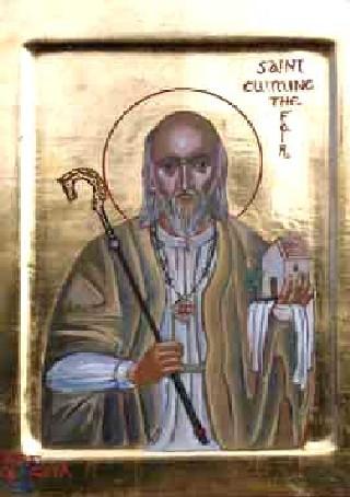 IMG ST. CUMINE, the White, Abbot of Iona