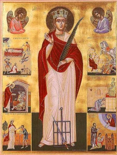 IMG ST. FAITH, Fo, Virgin Martyr of Agens in France