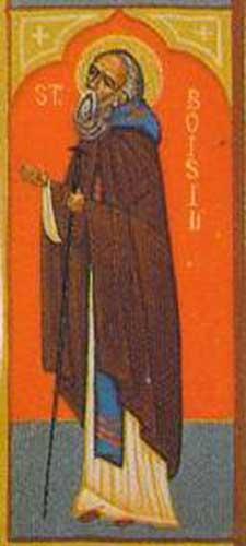 IMG ST. BOISIL, Basil Abbot of Melrose