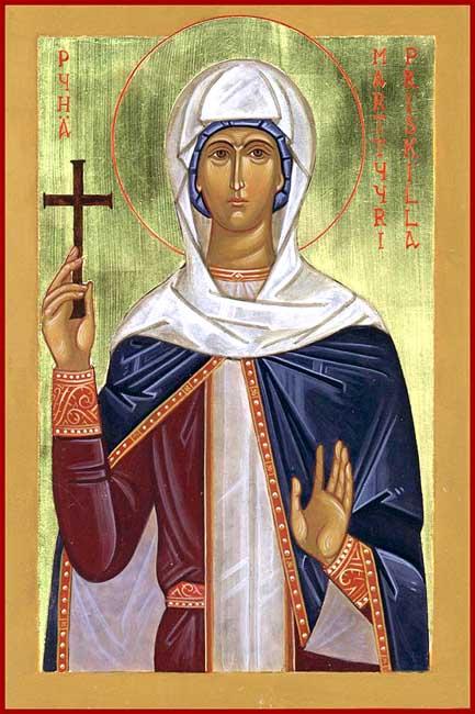 IMG ST. PRISCILA of Rome