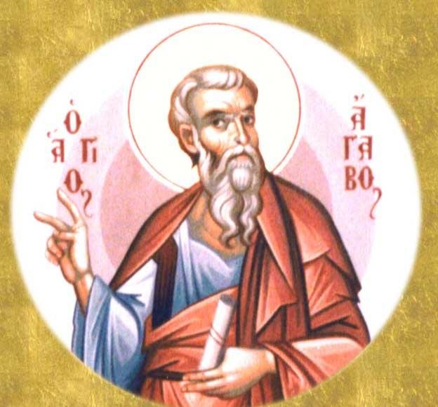 IMG ST. AGABUS, Apostle of he Seventy